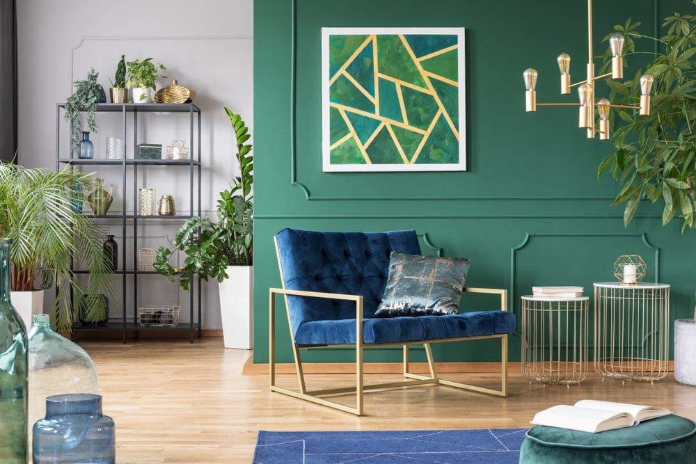 decoração verde e amarela